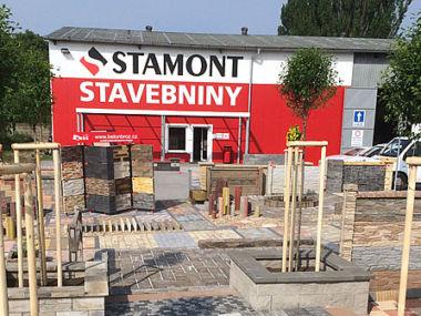 Prodejna stavebnin Stamont v Jaroměři