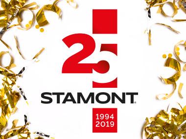 Stamont slaví 25 let