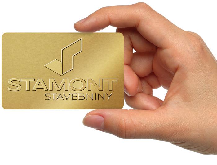 Zlatá karta Klub výhod Stavebniny Stamont