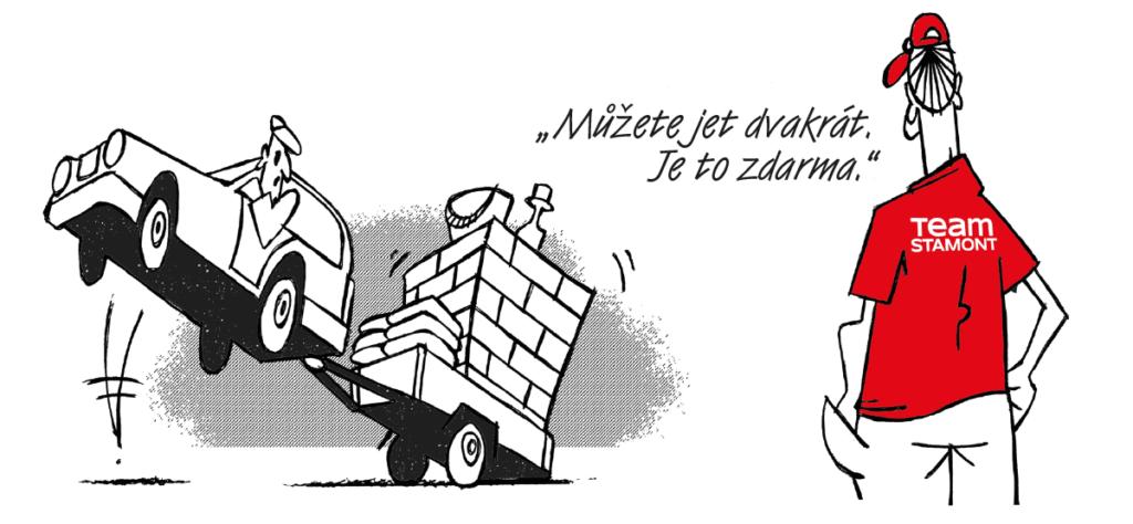 Zapůjčení vozíku zdarma – Stamont stavebniny Rychnov nad Kněžnou a Jaroměř
