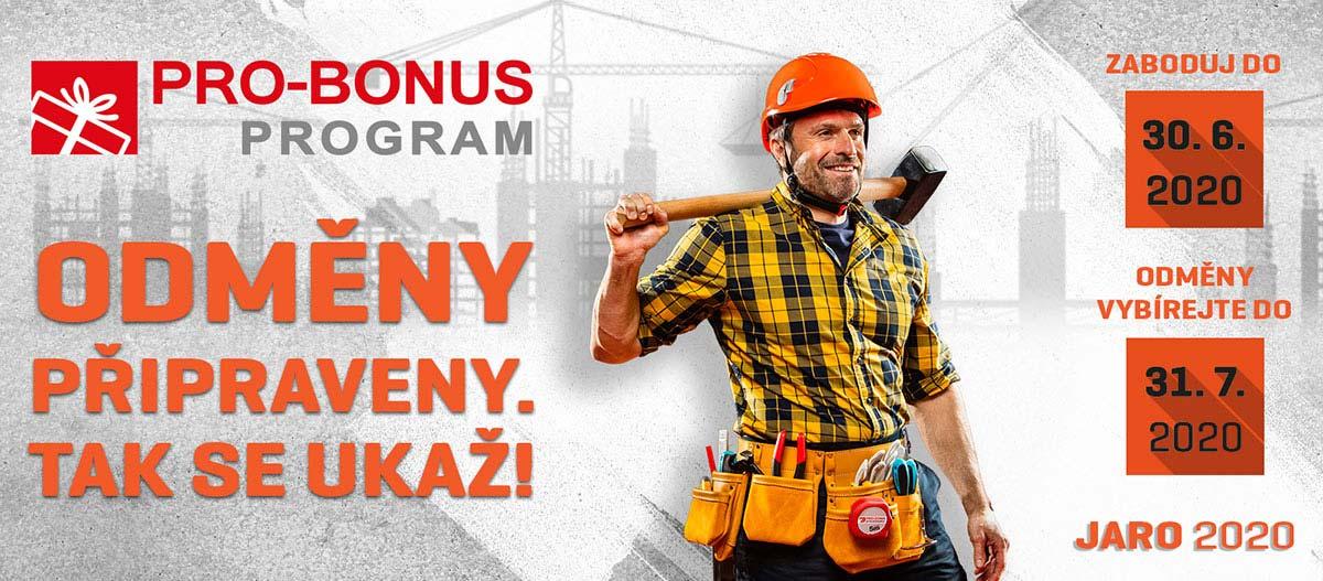 Pro-bonus program jaro 2020