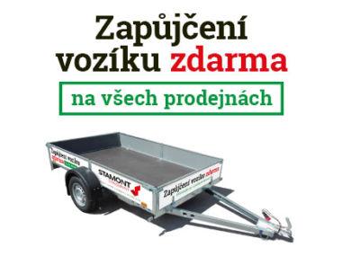 Zapůjčení vozíku zdarma – Stamont stavebniny Rychnov nad Kněžnou, Náchod, Dobruška, Jaroměř