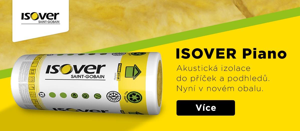 Isover Piano akustická izolace