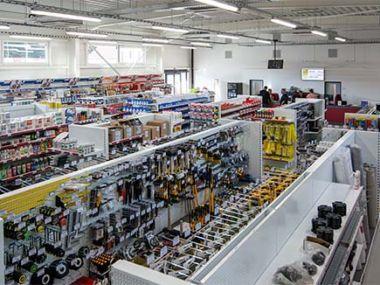 Nová prodejna stavebnin Stamont v Náchodě